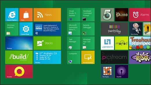 Windows 8 - Microsoft nimmt sich die Beschwerden zu Herzen und überdenkt den Start-Bildschirm