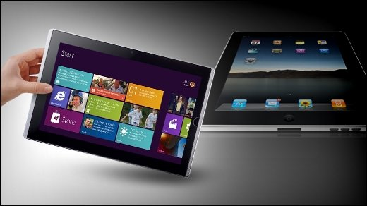 Windows, iOS oder Android? - Studie: Kunden bevorzugen Windows-Tablets