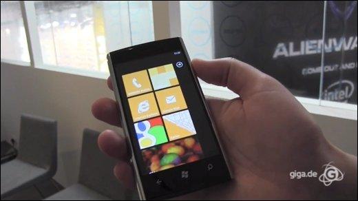 Windows Phone 7 - Dell Venue Pro: Günstiger Einstieg in die Windows Phone Welt