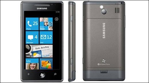 Windows Phone 7  - Zieht sich Samsung aus dem WP7-Geschäft zurück?