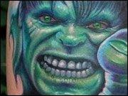 WTF News des Tages - Verrückte Superhelden-Tattoos