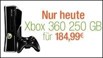Xbox 360 nur heute bei Amazon für 185