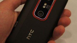 HTC Evo 3D: ICS-Update mit Sense 3.6 wird ausgerollt