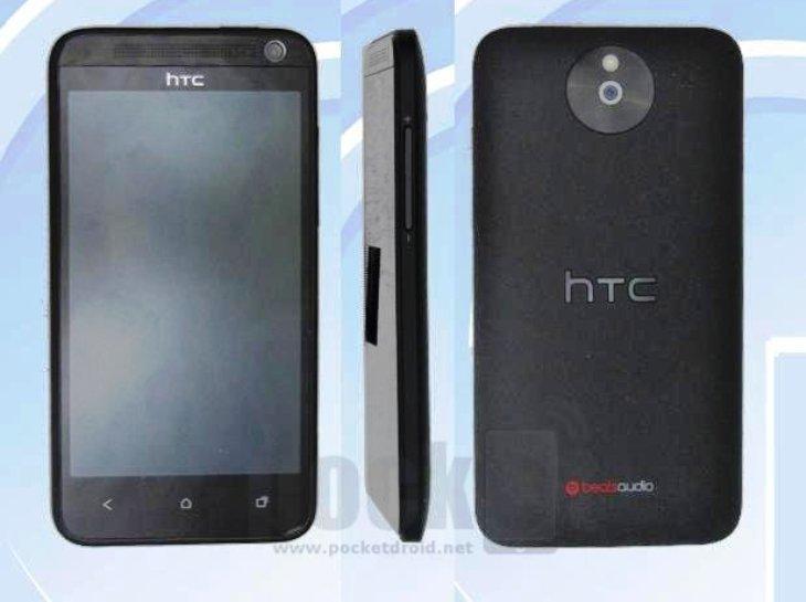 HTC M4: Erste Bilder des Mittelklasse-Smartphones geleakt