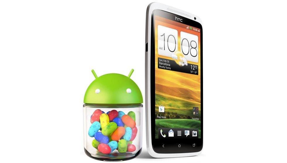 HTC One X: Update bringt Jelly Bean und Sense 4+