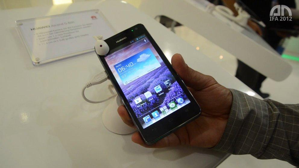 Huawei Ascend G600: Mittelklasse-Smartphone im Hands-On [IFA 2012]