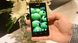 Huawei Ascend P1 S: Dünnstes Smartphone der Welt im Hands-on-Video [CES 2012]