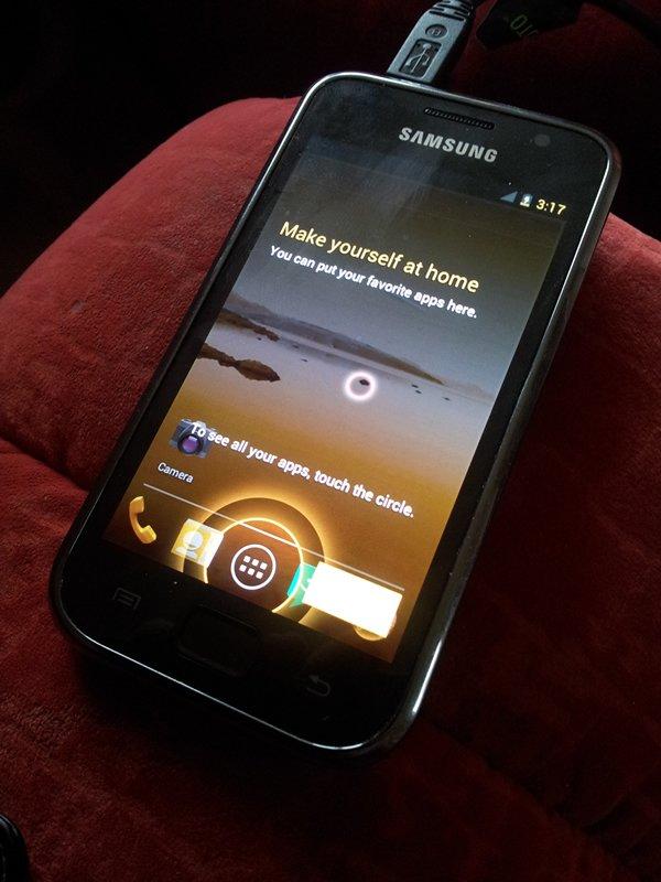 Ice Cream Sandwich ROM für Samsung Galaxy S i9000 aufgetaucht