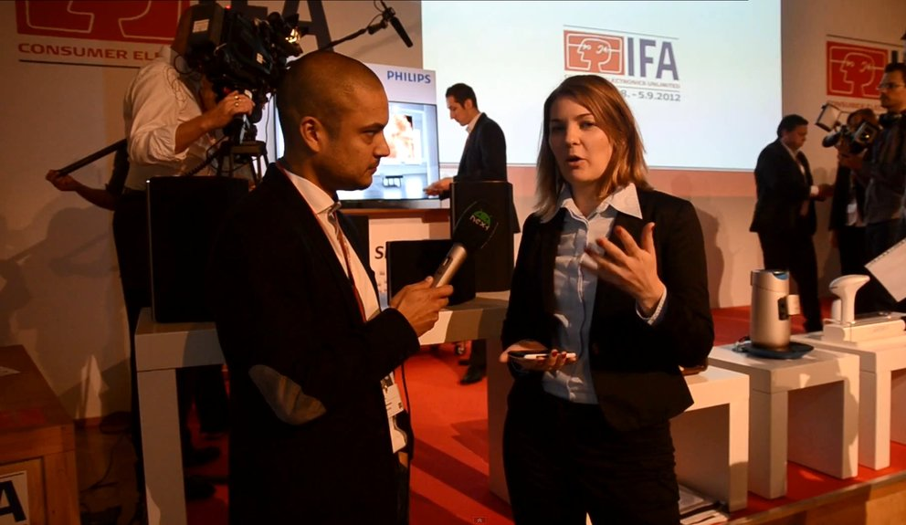IFA 2012: Interview mit Philips auf dem Media Briefing [Video]