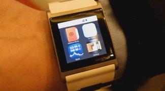 i'M Watch: Android-Armbanduhr im Wrist-on [CES 2012]
