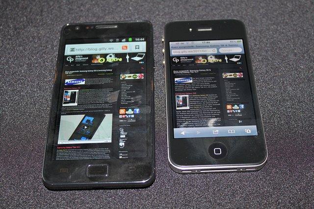 Samsung überholt Apple und Nokia erstmals bei Smartphone-Verkäufen