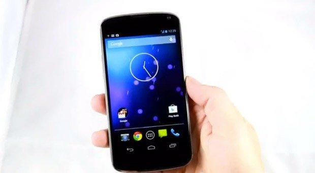 Nexus 4: Erstes Hands-On Video aufgetaucht