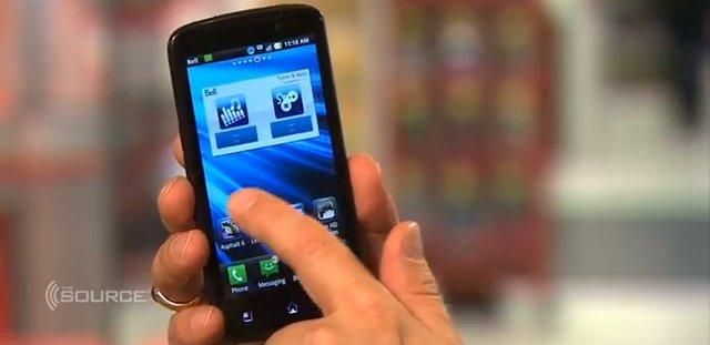 LG Eye (aka LG Optimus LTE) Video - so sieht´s in Bewegung aus