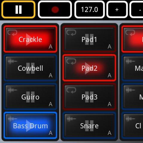 Mikrosonic SPC:  Musikalischer Skizzenblock für Android