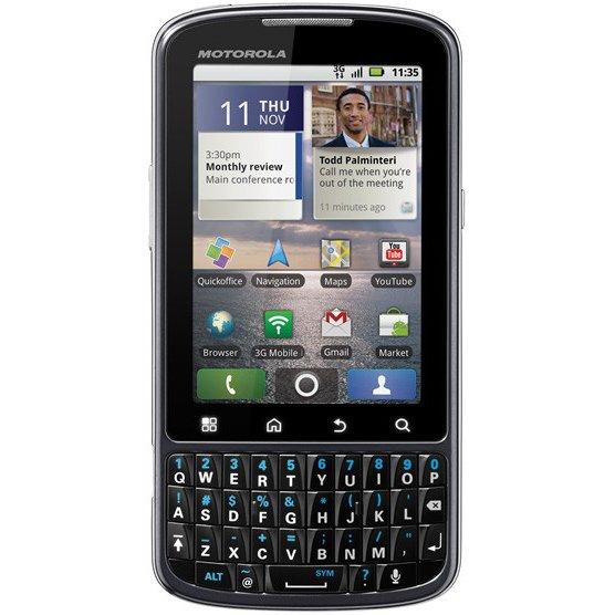 Motorola Pro und silbernes Xoom vorgestellt [MWC 2011]