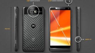Motorola RAZR i: Smartphone mit 2 GHz-Intel-CPU vorgestellt [Hands-On-Video]