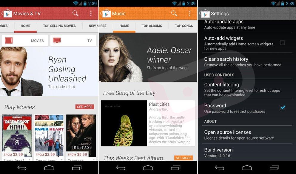 Google Play Store: Optisch grundsanierte App in Bild &amp&#x3B; Video geleakt