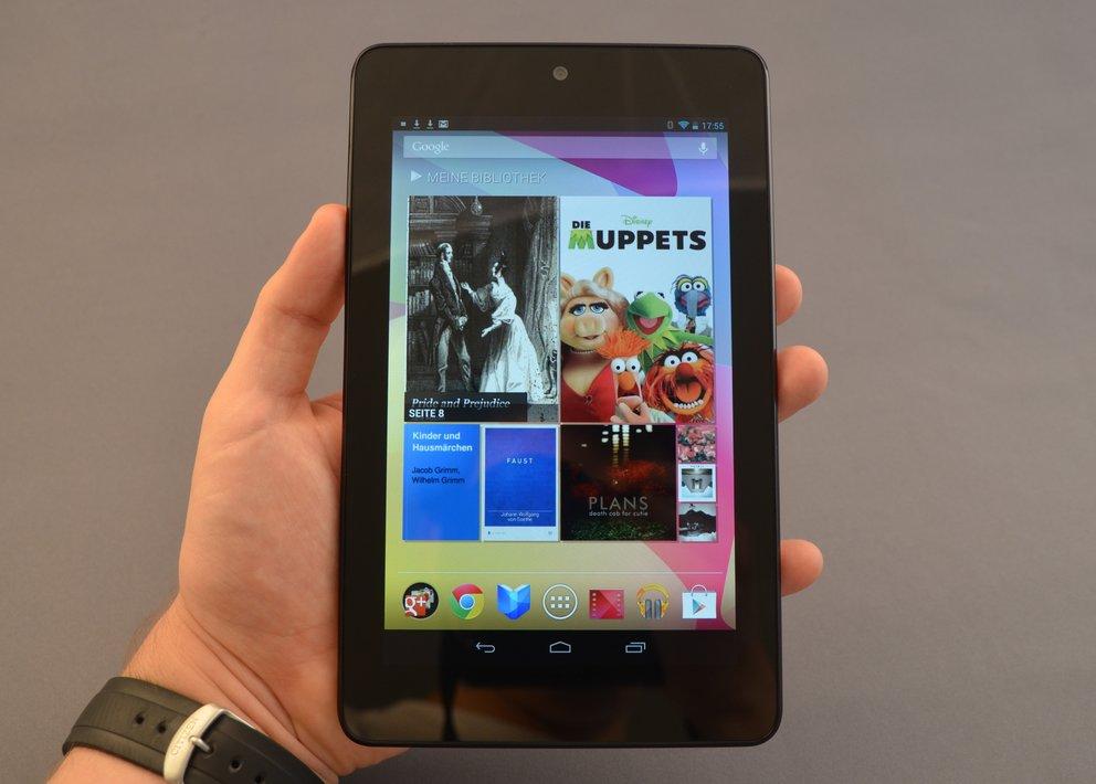 Nexus 7: 32 GB-Version im Media Markt-Prospekt, 8- und 16-GB-Version ausverkauft
