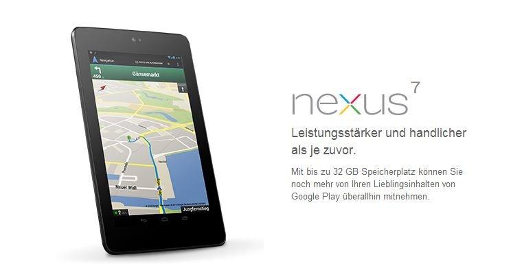 Nexus 7: Upgrade mit Full HD-Display in Arbeit [Gerücht]