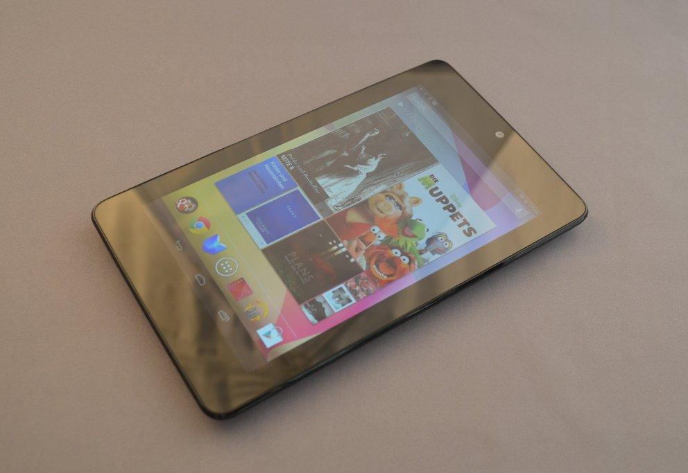 Nexus 7: Sound-Verzerrung mit Luftpolsterfolie repariert