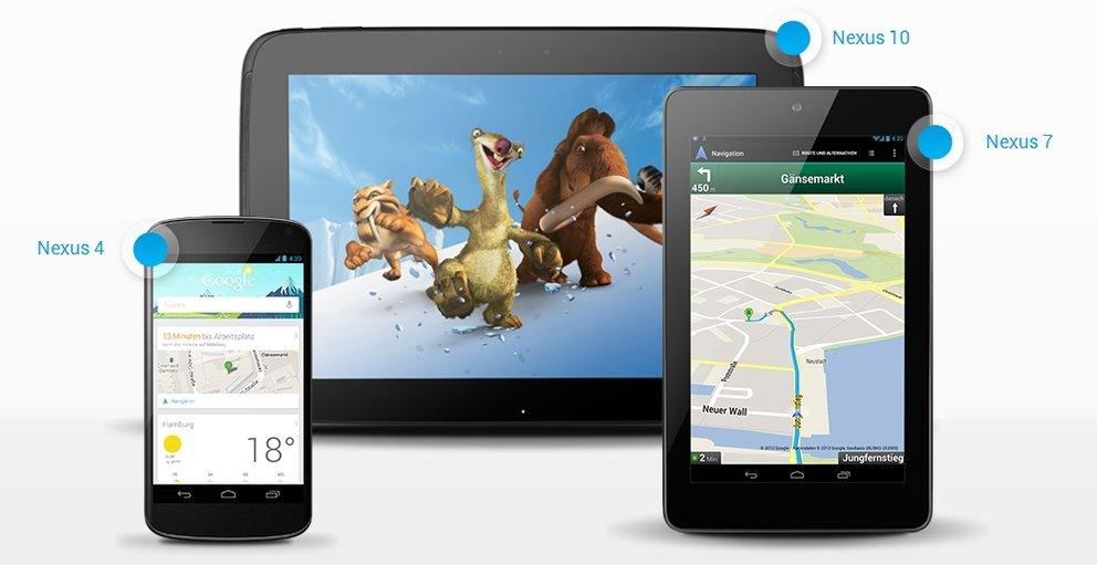 Nexus 4, 7, 10 und Android 4.2: Was der gestrige Abend für die Zukunft bedeutet [Analyse]