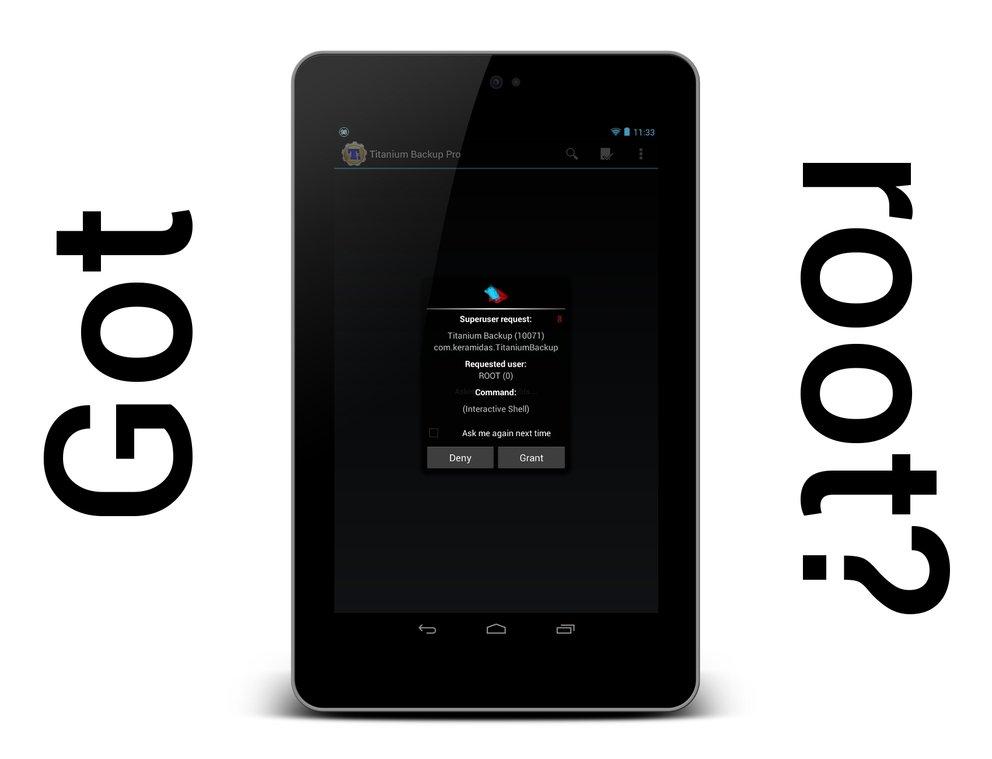Nexus 7: Root-Anleitung