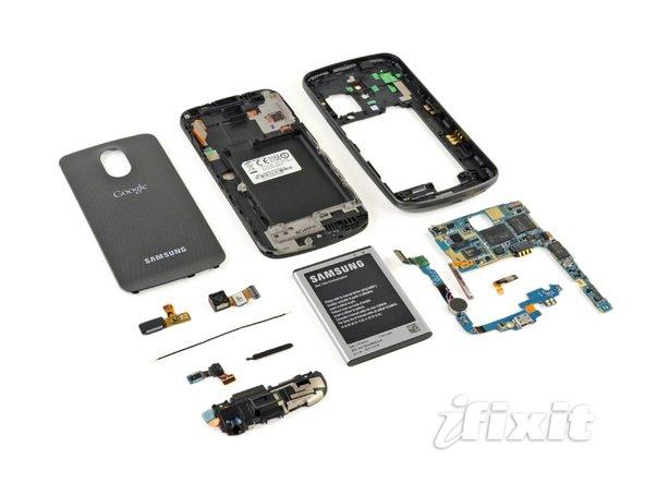 Samsung Galaxy Nexus zerlegt: Interessante Details entdeckt