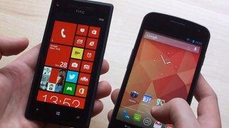 NFC: Android Beam mit Windows Phone 8 teilkompatibel