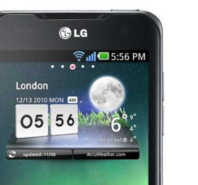 Live-Wallpaper und mehr vom LG Optimus Speed zum Download