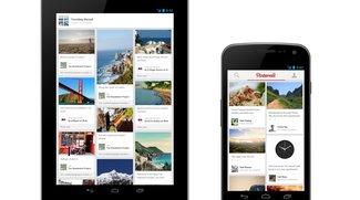Pinterest für Android: Pinnwand-App landet im Play Store