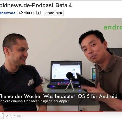 Freitag ist Podcast-Tag: androidnews.de-Podcast Beta 4
