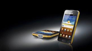 Samsung Galaxy Beam: Smartphone mit Pico-Projektor vorgestellt [MWC 2012]