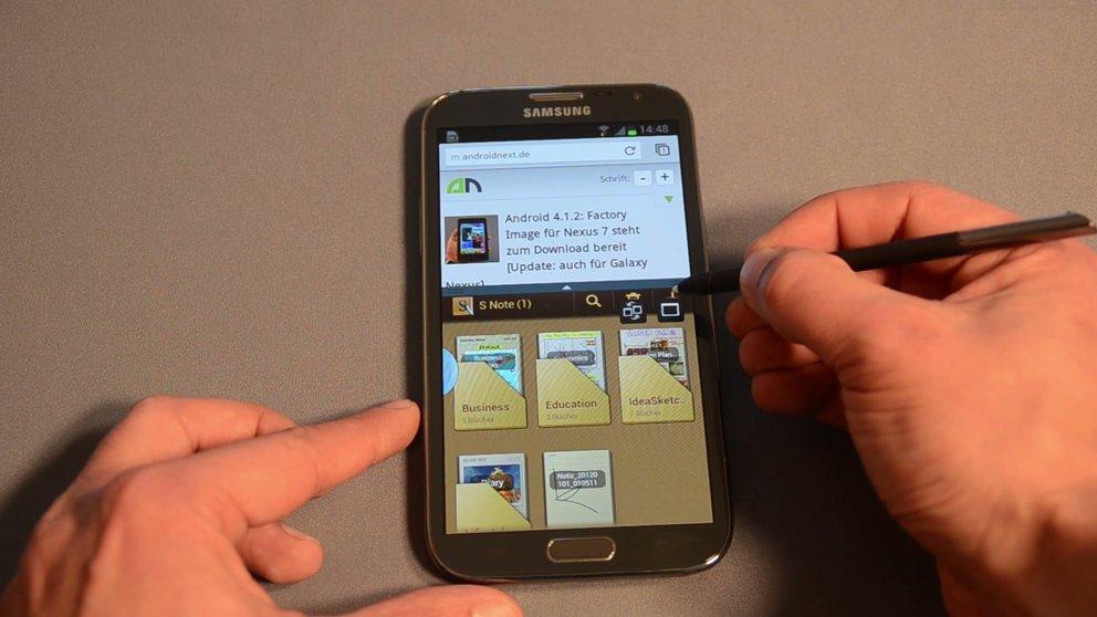 Samsung Galaxy Note 3: Und es sieht doch aus wie das S4 [Gerücht]