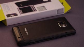 Samsung Galaxy S II: 2000 mAh-Akku im Hands-on
