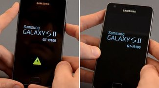 "Samsung Galaxy S2: Gelbes Dreieck per ""Triangle Away"" entfernen"