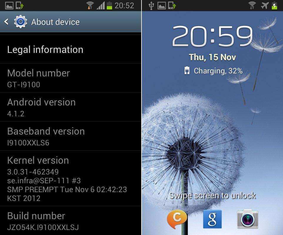 Samsung Galaxy S2: Jelly Bean in Firmware-Leak XXLSJ gesichtet