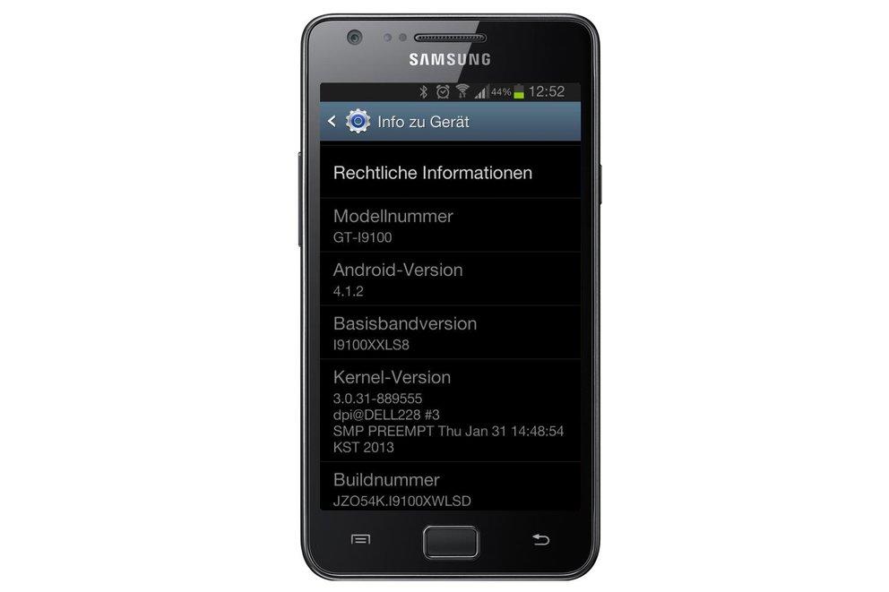 """Samsung Galaxy S2: Android 4.1.2 """"Jelly Bean"""" wird in Deutschland verteilt [Update: Doch noch nicht]"""