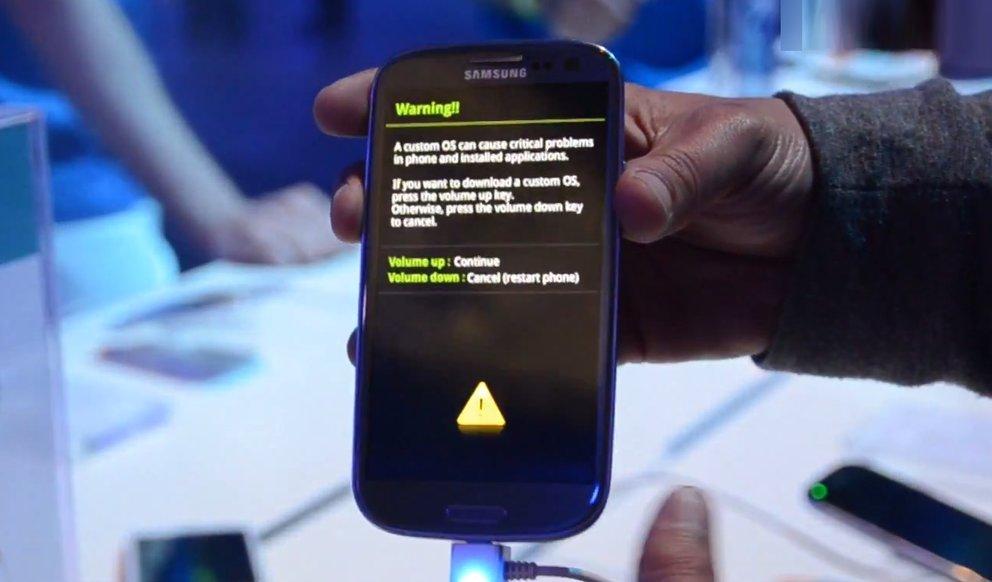 Samsung Galaxy S3: Download-Modus funktioniert [EXKLUSIV]