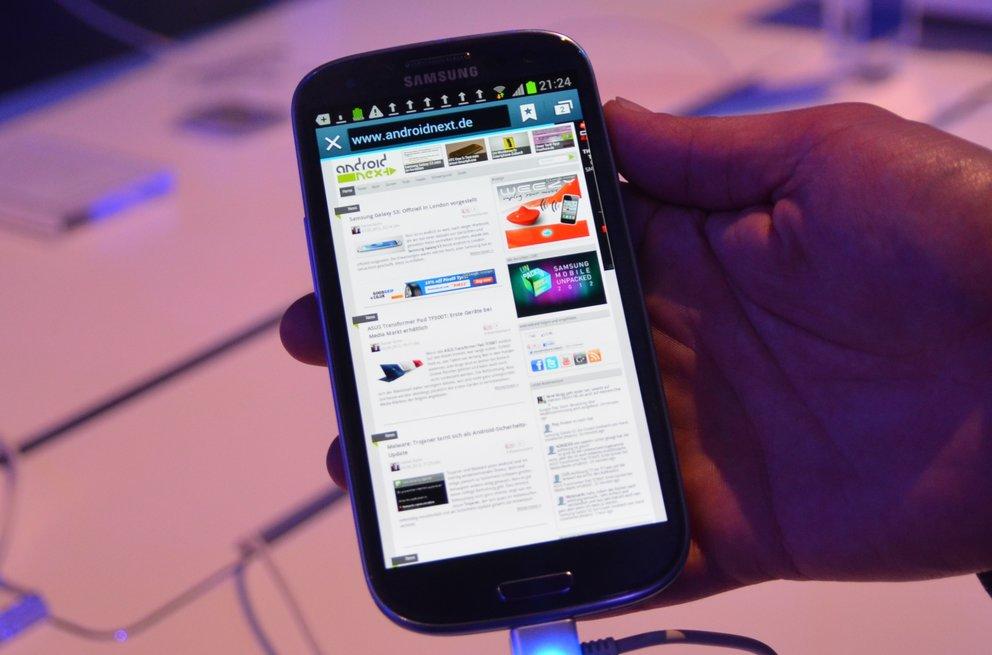 Samsung Galaxy S3: Erste Tests bestätigen gute Akkulaufzeit