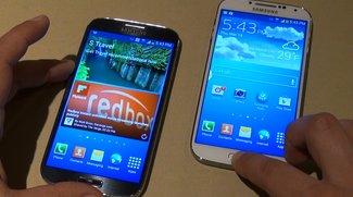 Samsung Galaxy S4: Doppelt so schnell wie iPhone 5