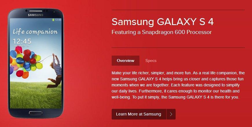 Samsung Galaxy&nbsp&#x3B;S4: 70&nbsp&#x3B;% der ersten Produktionsreihe mit Snapdragon 600-SoC