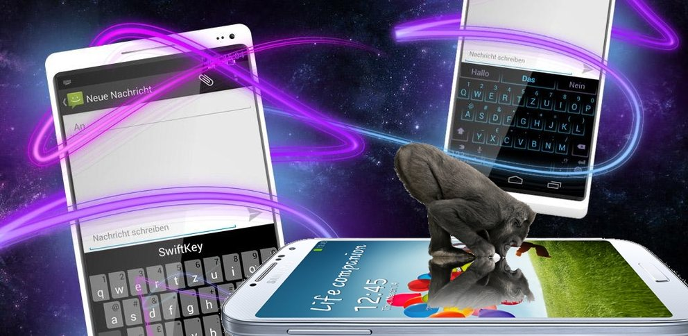 Samsung Galaxy S4: Kommt mit SwiftKey, Gorilla Glass 3