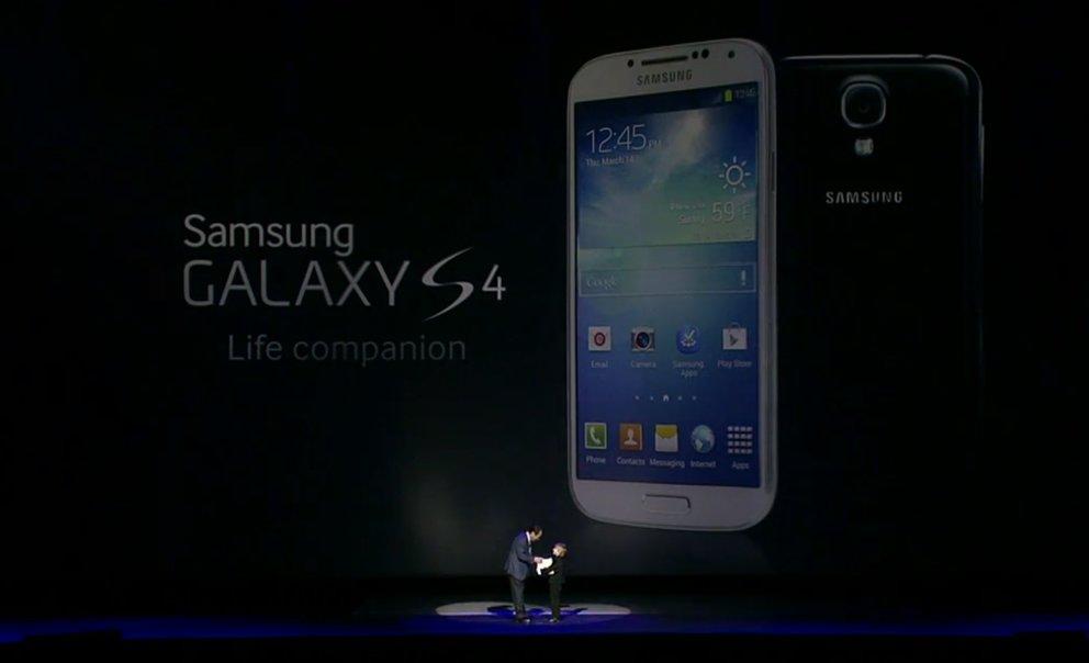 Samsung Galaxy S4: Flaggschiff-Smartphone offiziell vorgestellt