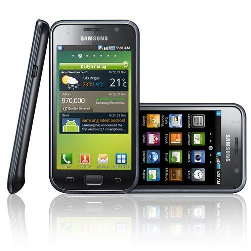 Samsung Galaxy S: Gingerbread-Update im März&#x3B; Galaxy Tab später