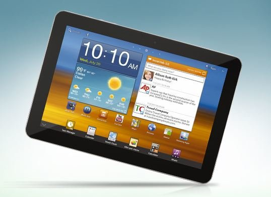 Samsung Galaxy Tab 10.1: TouchWiz UX weltweit ab 5. August