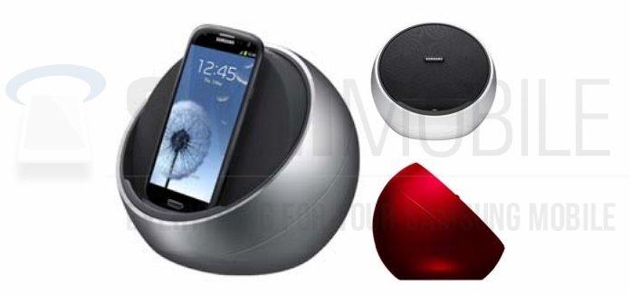 Samsung: Audio-Dock für Galaxy S3, Note 2 &amp&#x3B; Co. aufgetaucht