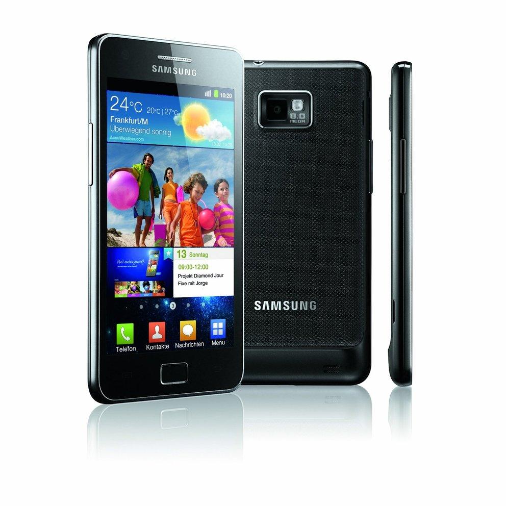 Samsung Galaxy SII gewinnt in fünf Kategorien den Mobile Choice Award