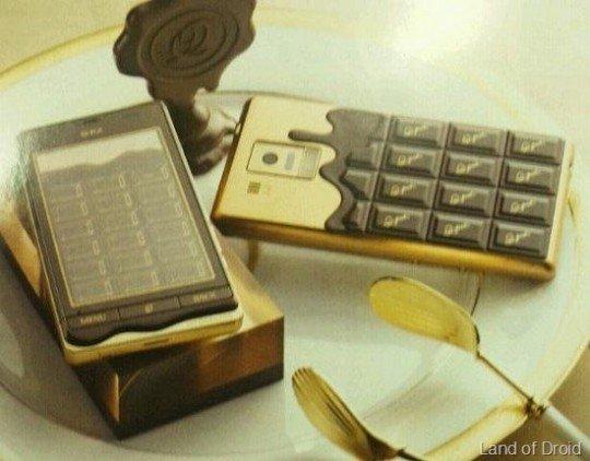 Sharp Q-Pod: Leckeres Smartphone für volle Geldbeutel