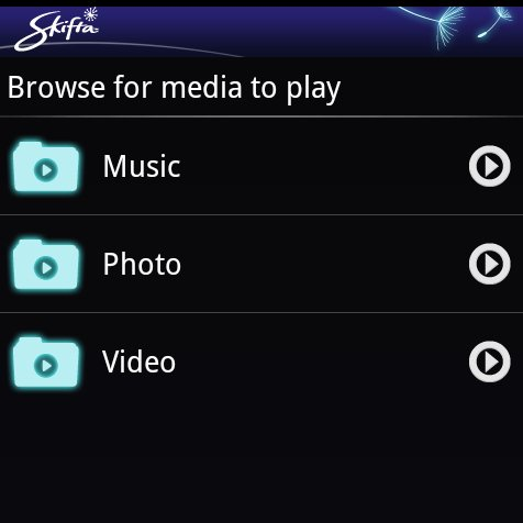 Skifta: Android-App für Audio- &amp&#x3B; Video-Streaming über DLNA