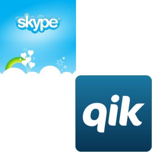 Skype kauft Qik -- Videochat zwischen Android und iOS kommt